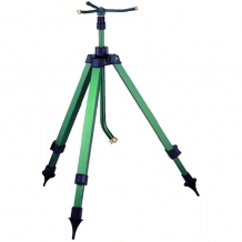 Three arm sprinkler with telescopic tripod